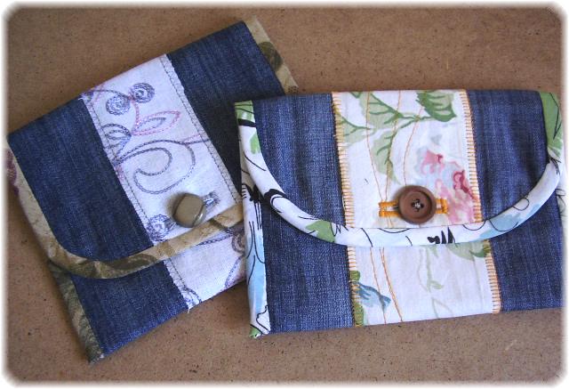 Косметички из джинса своими руками