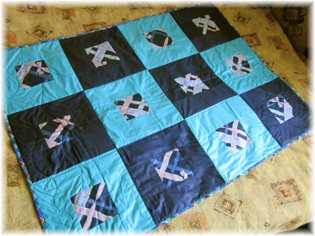 Как сшить стеганое одеяло на синтепоне 55